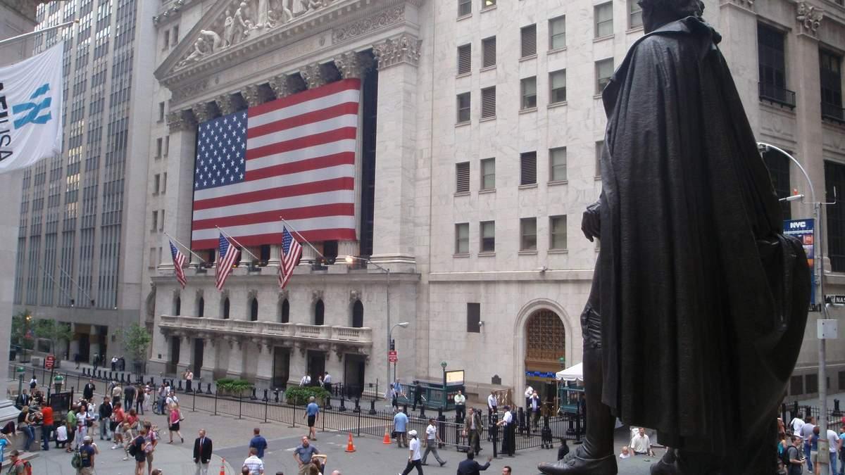 Коронавірус продовжує тягнути донизу фондовий ринок США: ціни на акції падають