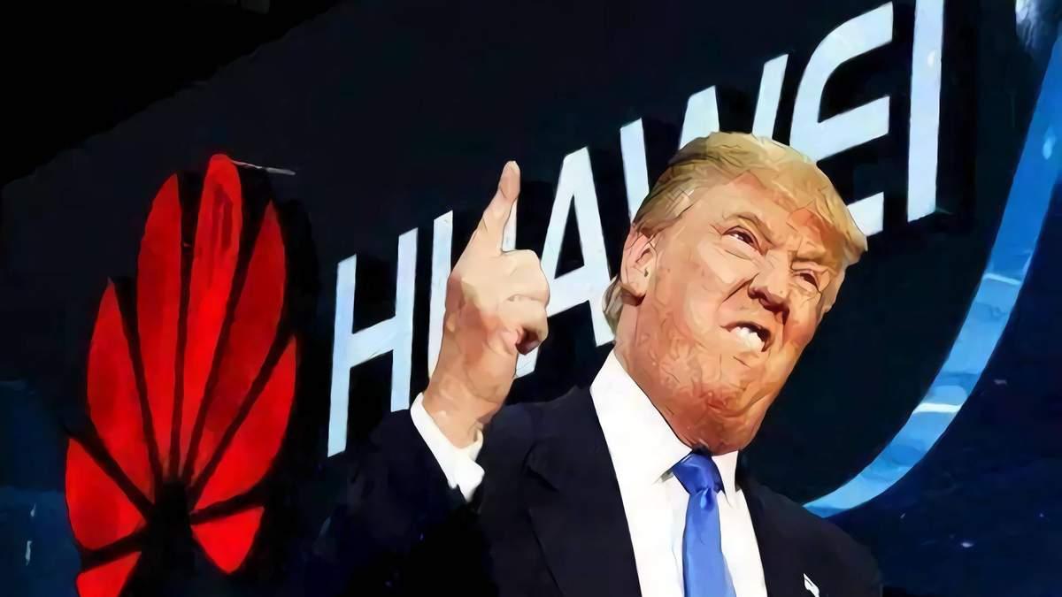 """""""Я зробив це сам"""": Трамп про заборону Huawei  у Великій Британії"""
