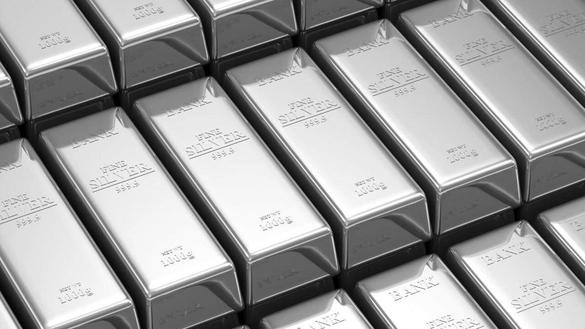 Ціна срібла у 2020 році: чому вартість металу рекордно росте