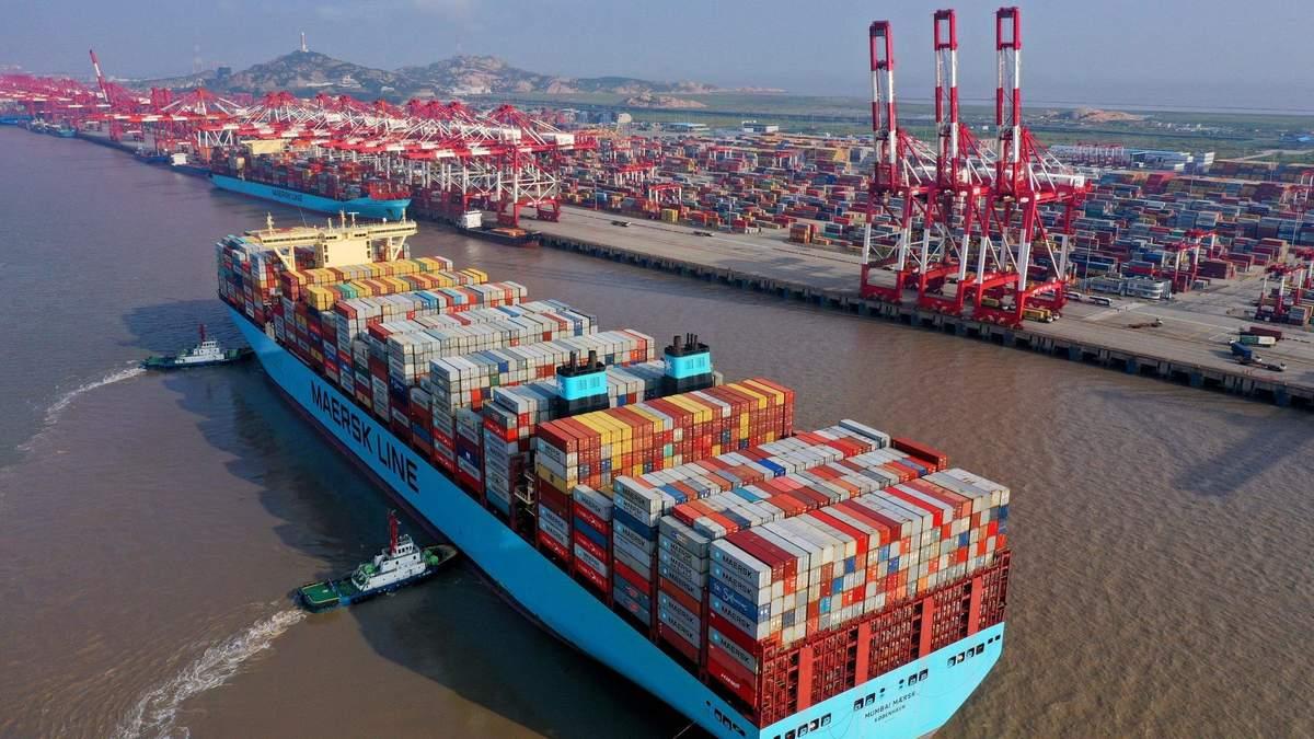Экспорт Китая растет