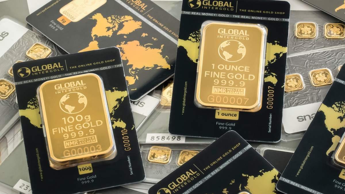 Цена золота, сентябрь 2020 – металл дорожает, доллар падает