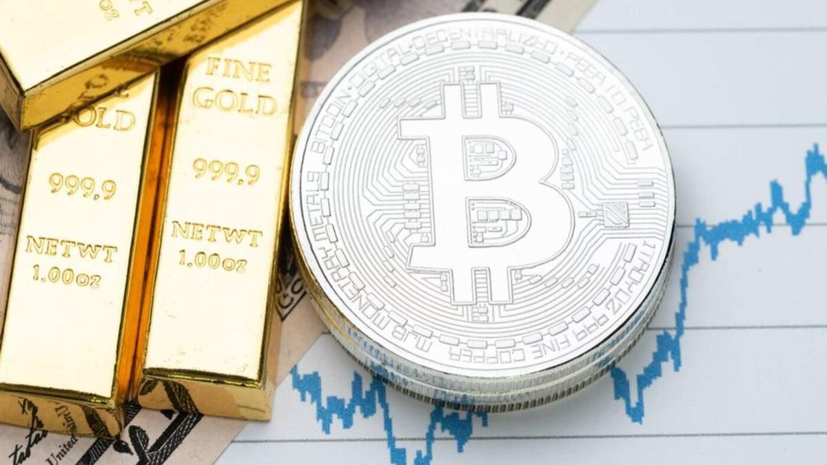 Біткойн, золото і курс долара – кореляція досягла рекорду