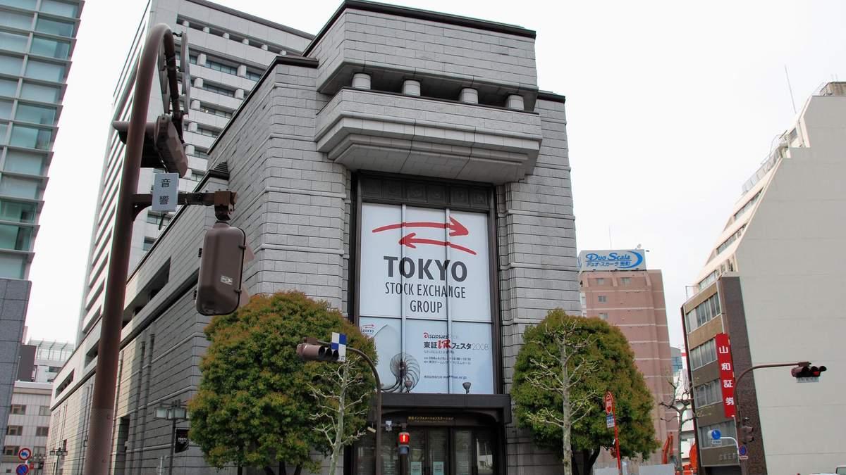 Фондова біржа Токіо 1 жовтня зупинила торги через збій