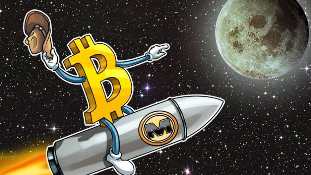 Біткойн полетить на Місяць: прогноз для криптовалюти від економіста