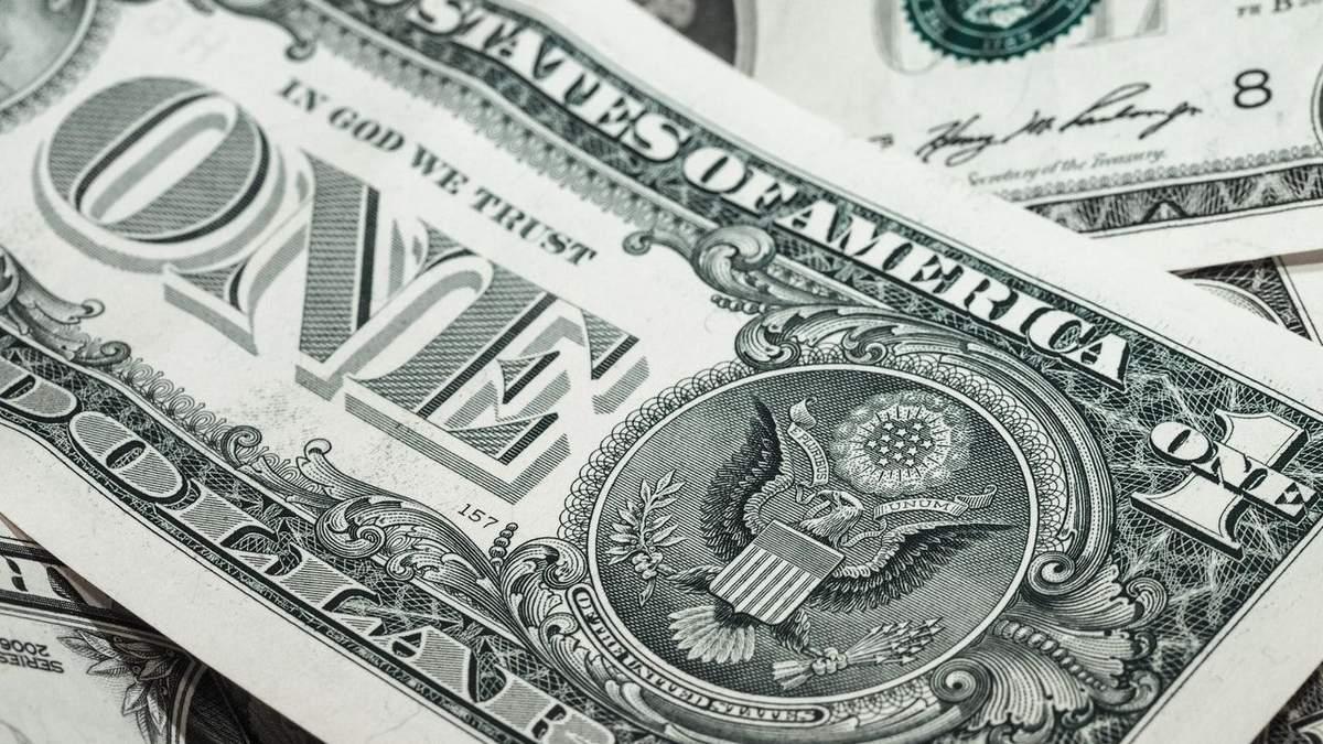 Індекс долара рекордно впав на тлі новини про вакцину та нові стимули для економіки США