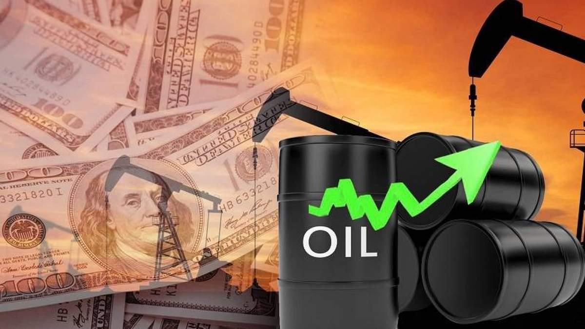 Цена нефти Brent i WTI 5 февраля 2021 установила рекорд за год