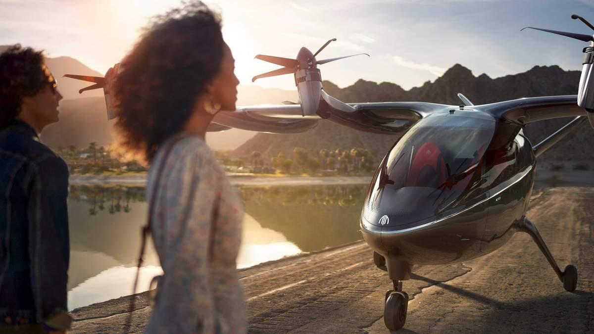 Воздушные такси могут запустить в США в 2024: интересные детали