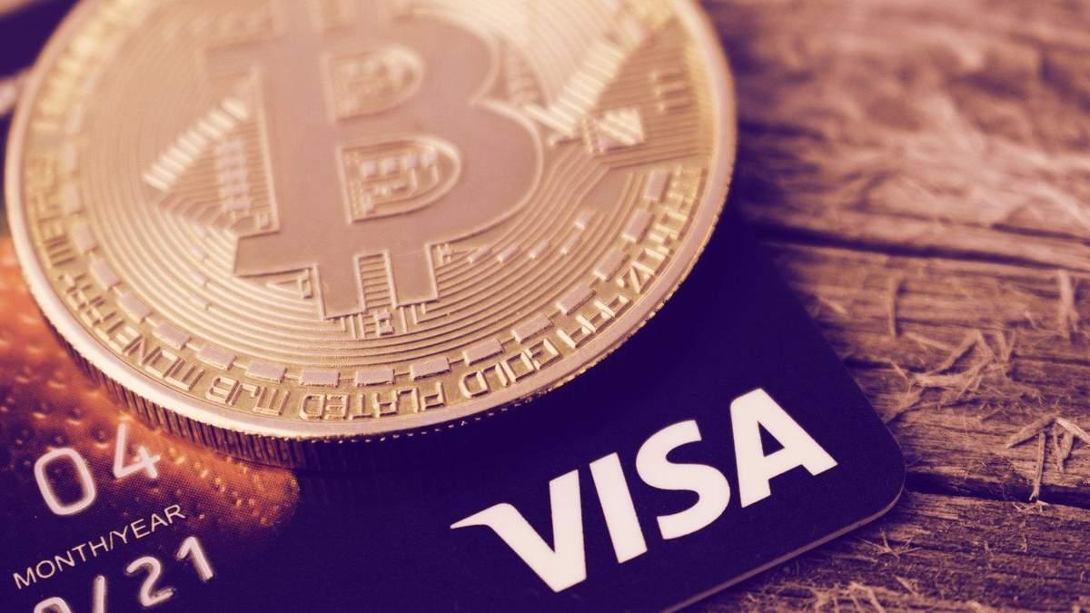 Visa позволит криптовалютные платежи