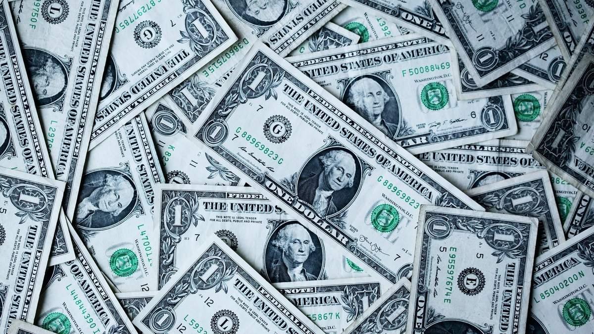 Частка долара у валютних резервах оновила рекордний мінімум