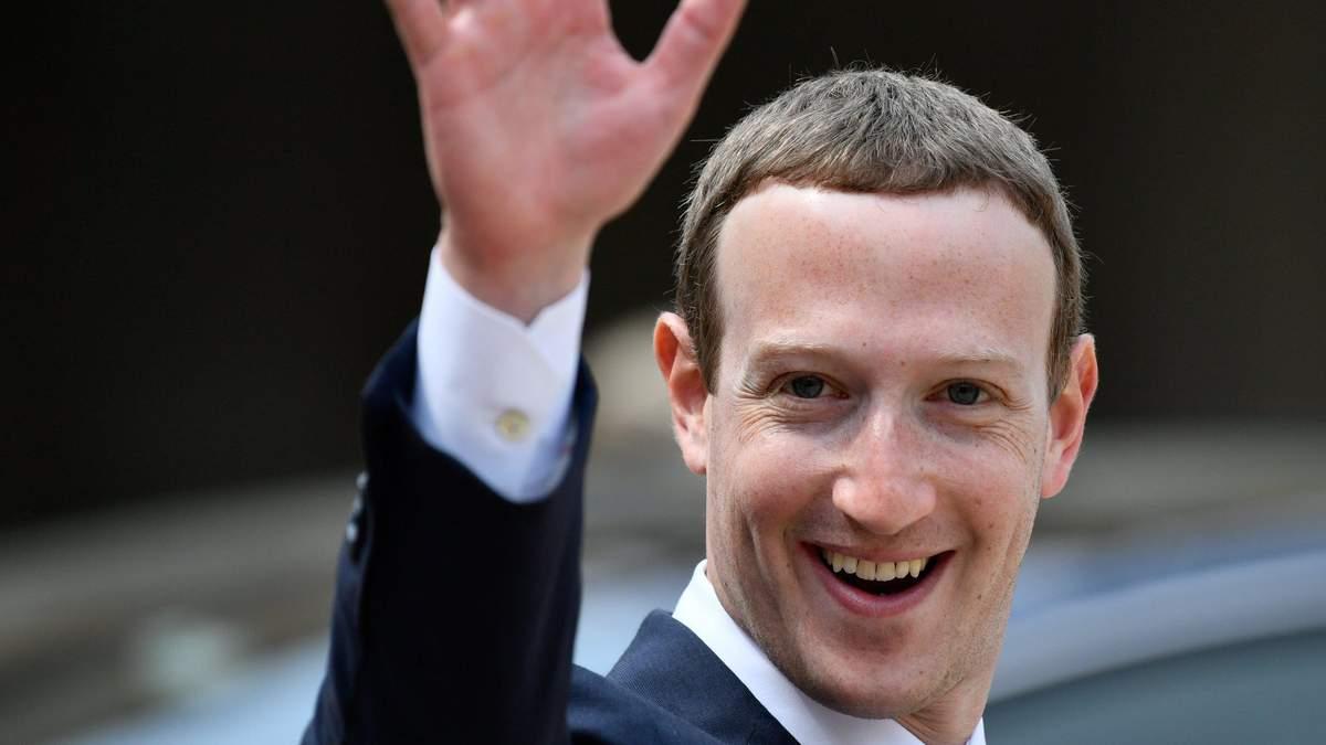 Марк Цукерберг продає акції Facebook