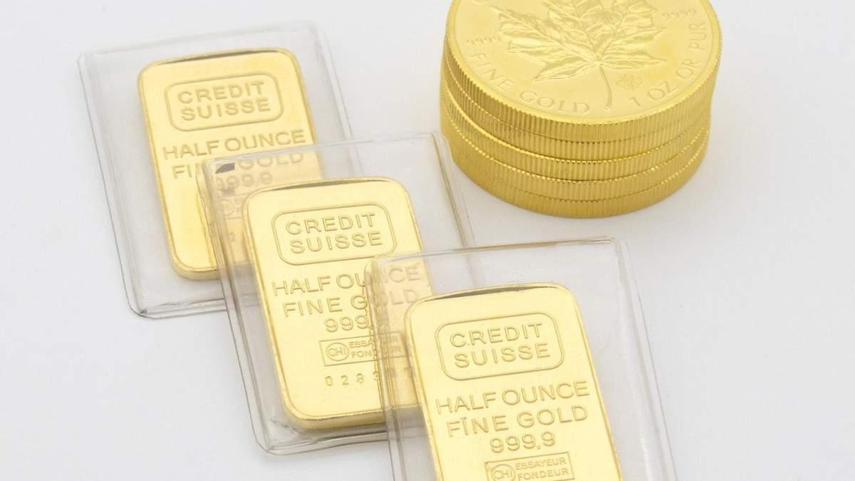 Ціна золота оновила тримісячний максимум