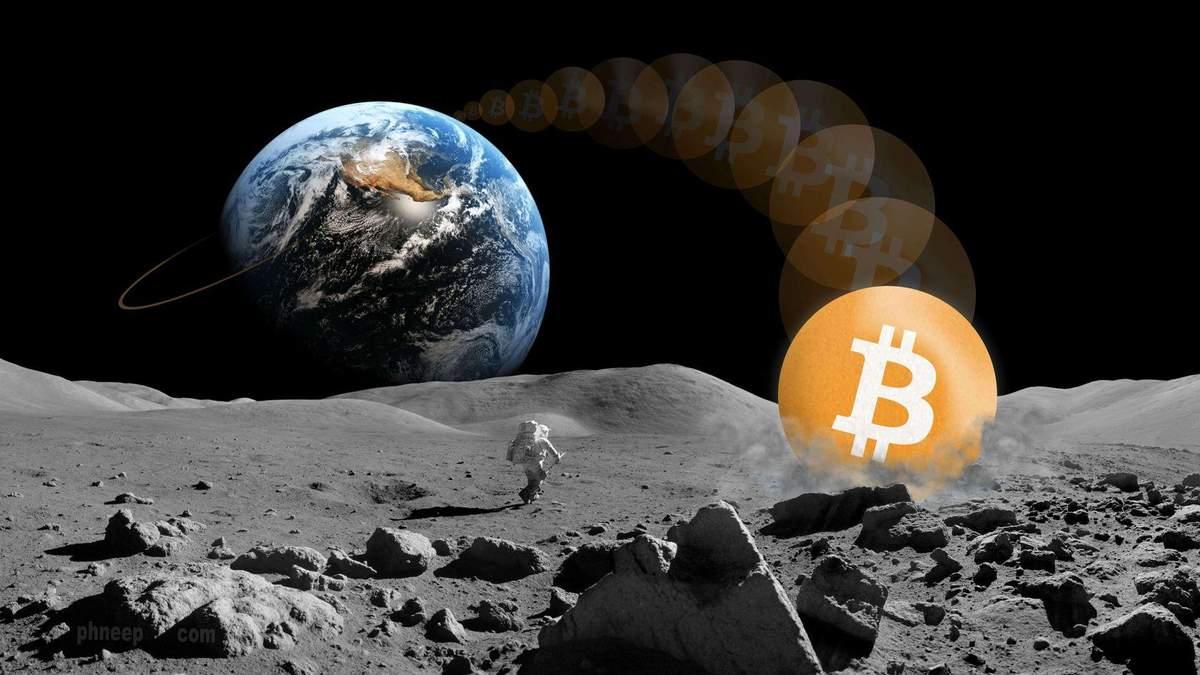 Як біткойн полетить на Місяць