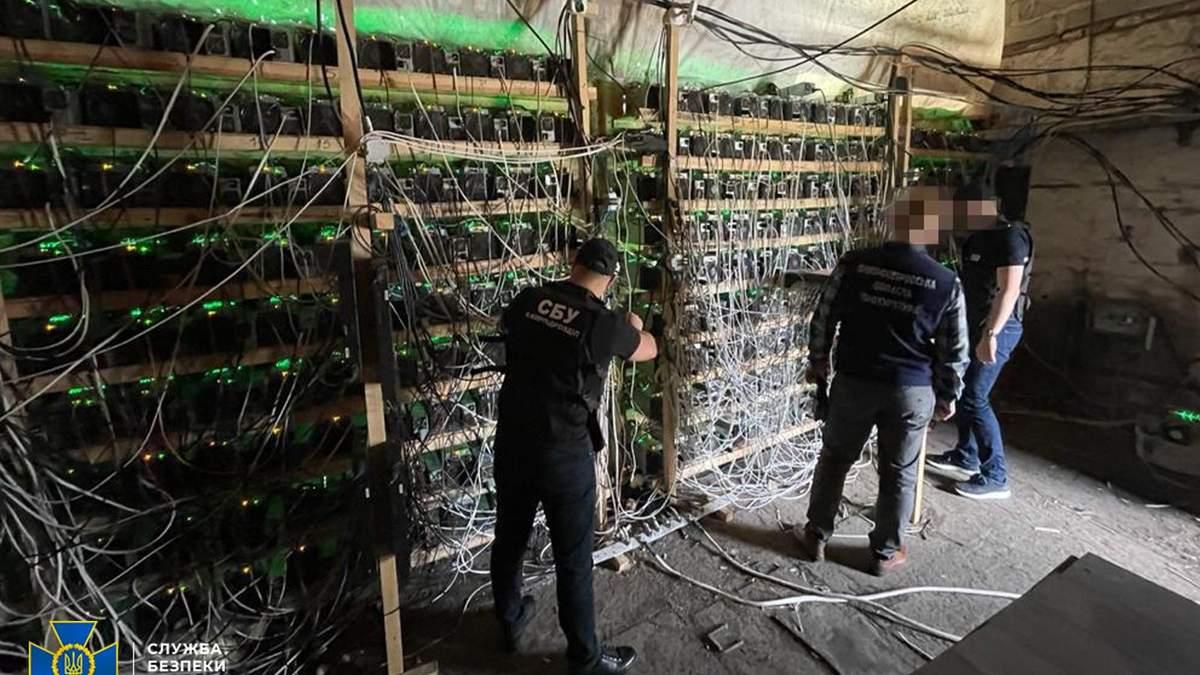 СБУ накрила незаконну криптоферму