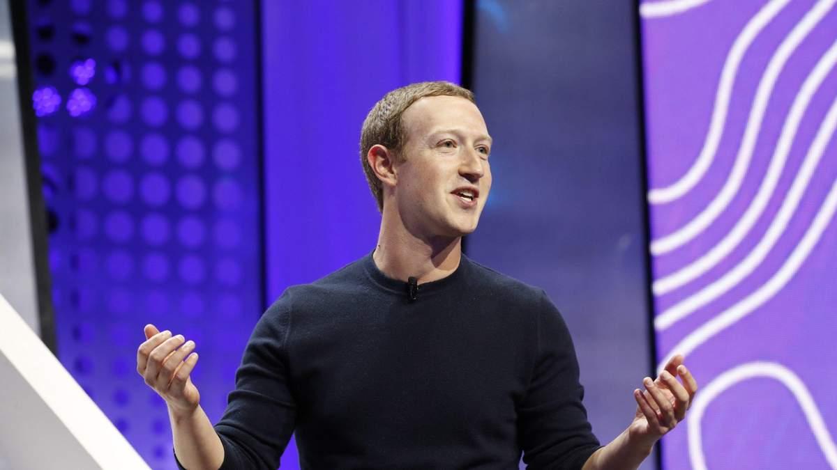 Цукерберг разбогател на 5,1 миллиарда долларов