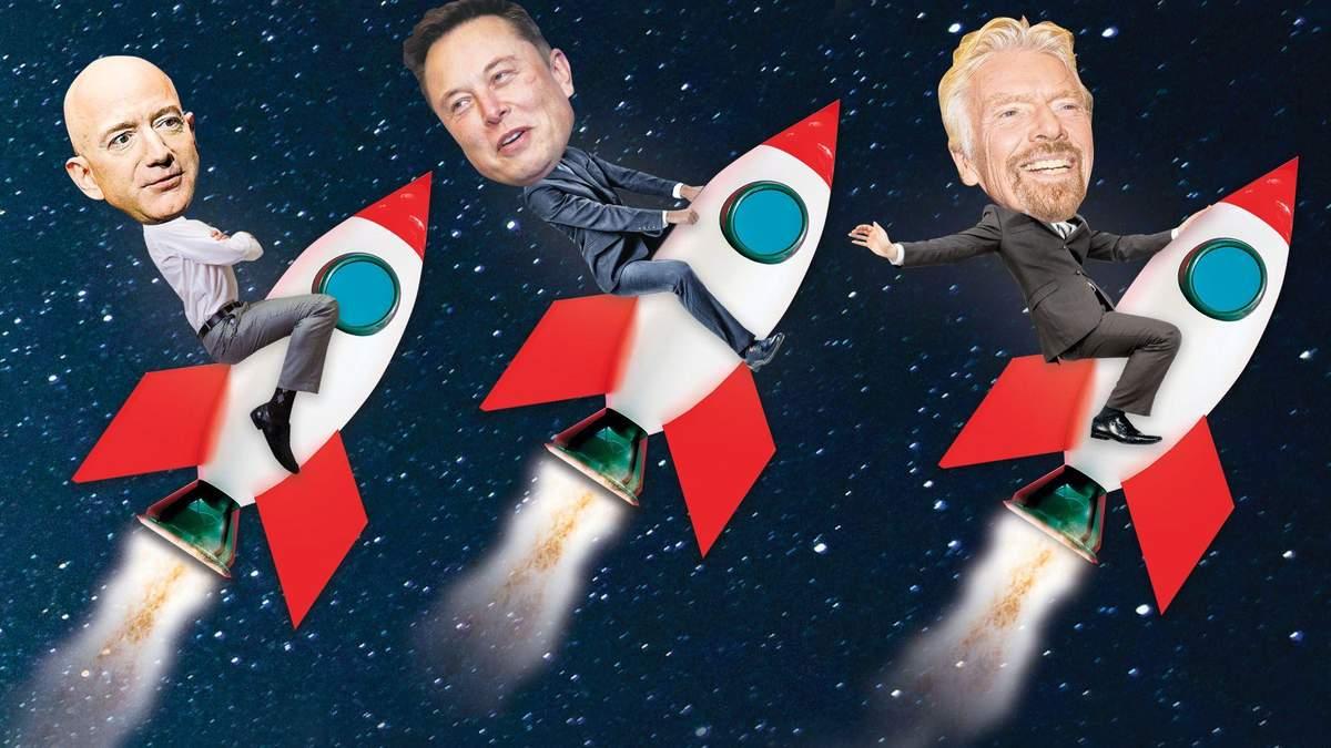 Сколько миллиардеры потратят на полет в космос