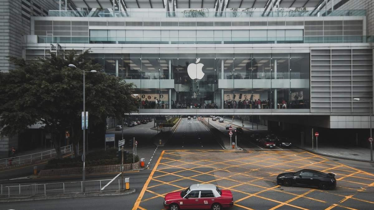 Ціна акцій Apple злетіла до рекордно високого рівня