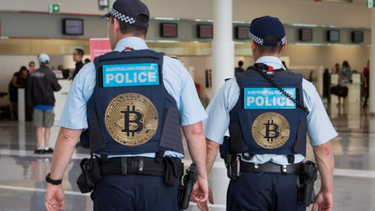 В полиции украли биткоины