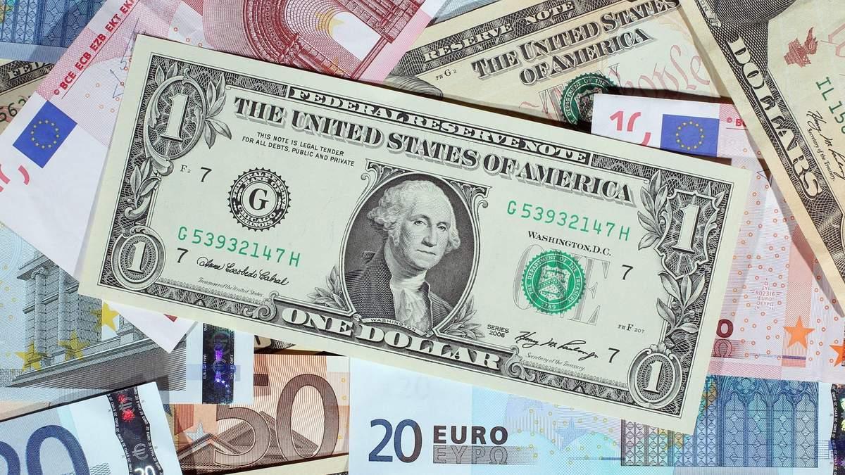Курс долара, євро – курс валют НБУ на 19 серпня 2021