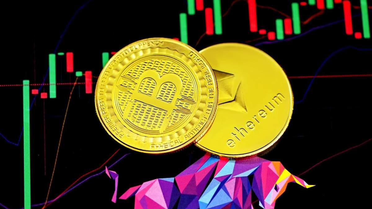 Ethereum и биткоин на пути к рекордам: стратег Bloomberg прогнозирует новые цены криптовалют - новости биткоина - Финансы