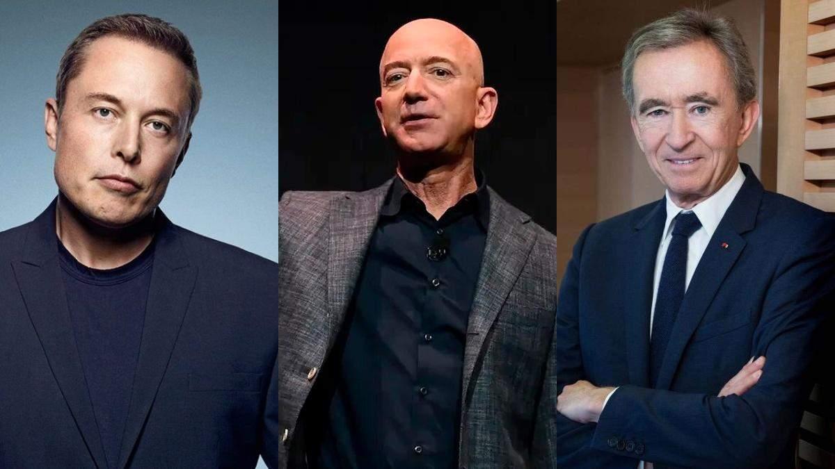 Forbes оновив рейтинг найбагатших людей світу: хто у топі - Головні новини - Фінанси