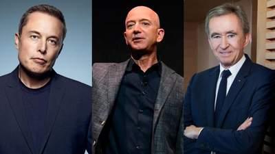 Forbes оновив рейтинг найбагатших людей світу: хто у топі