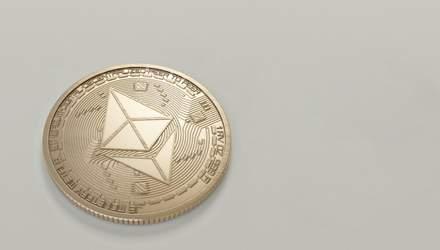 Конкурент біткойна наблизився до рекорду: ціна Ethereum