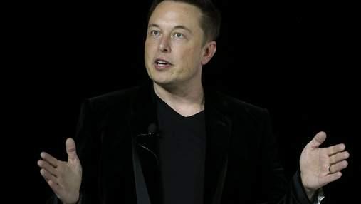 Ілон Маск за тиждень збіднів ще на 27 мільярдів доларів