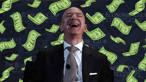 Знадобиться 550 років, щоб Джефф Безос витратив всі свої гроші: чому так довго