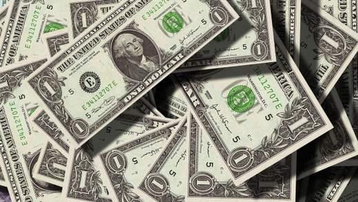 Курс валют на 5 лютого: долар подешевшав ще на 10 копійок